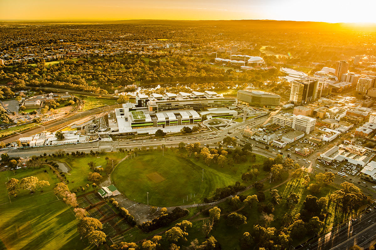 Architecture Aerial Sunrise Photography Adelaide