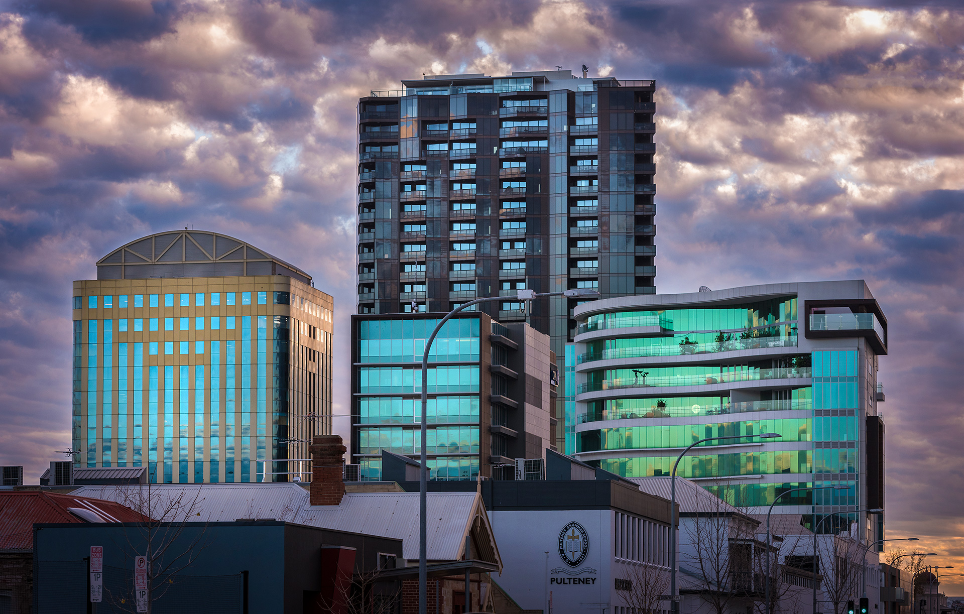 Architecture Skyline Photography Adelaide