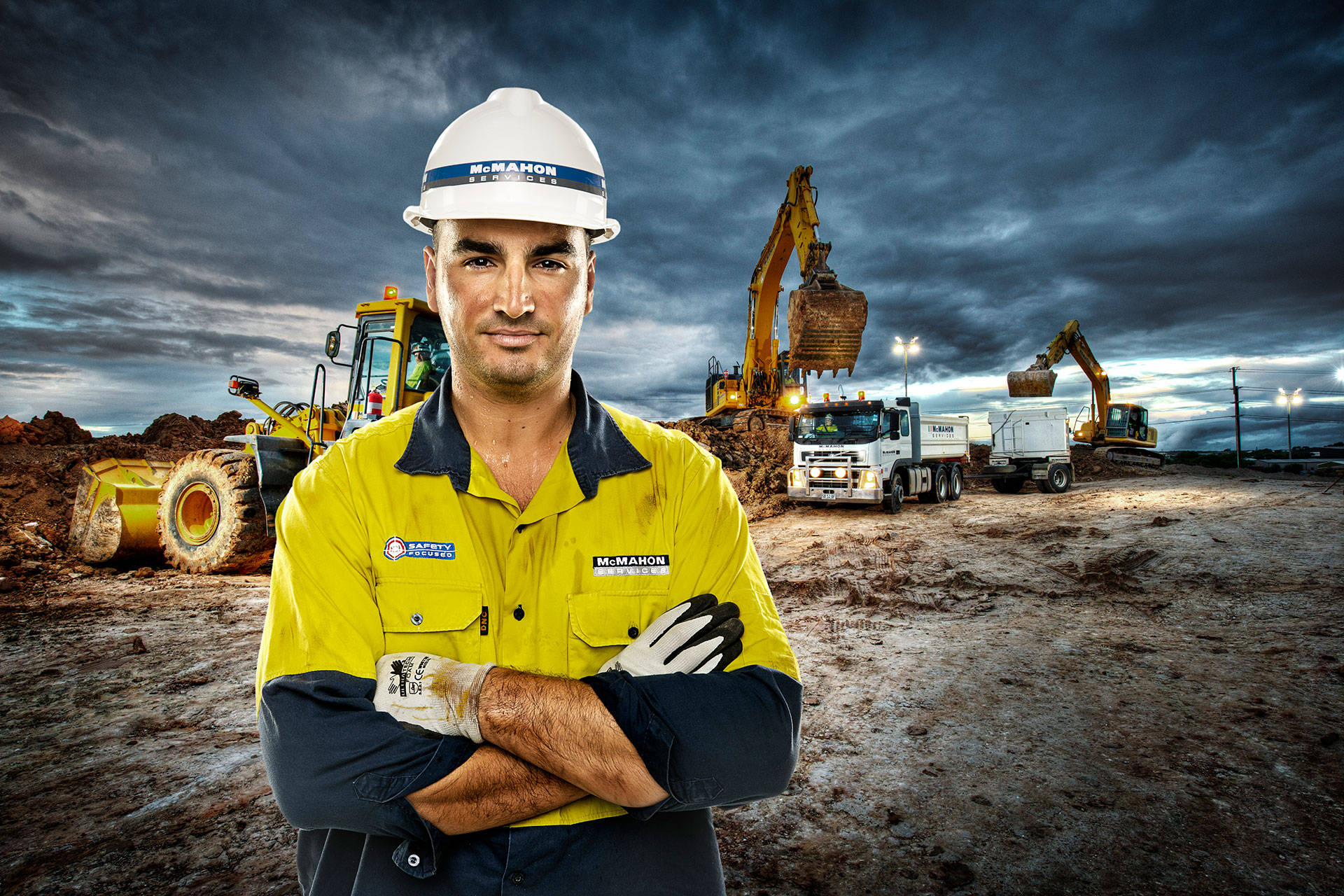 Industrial Soil Remediation Photography Adelaide