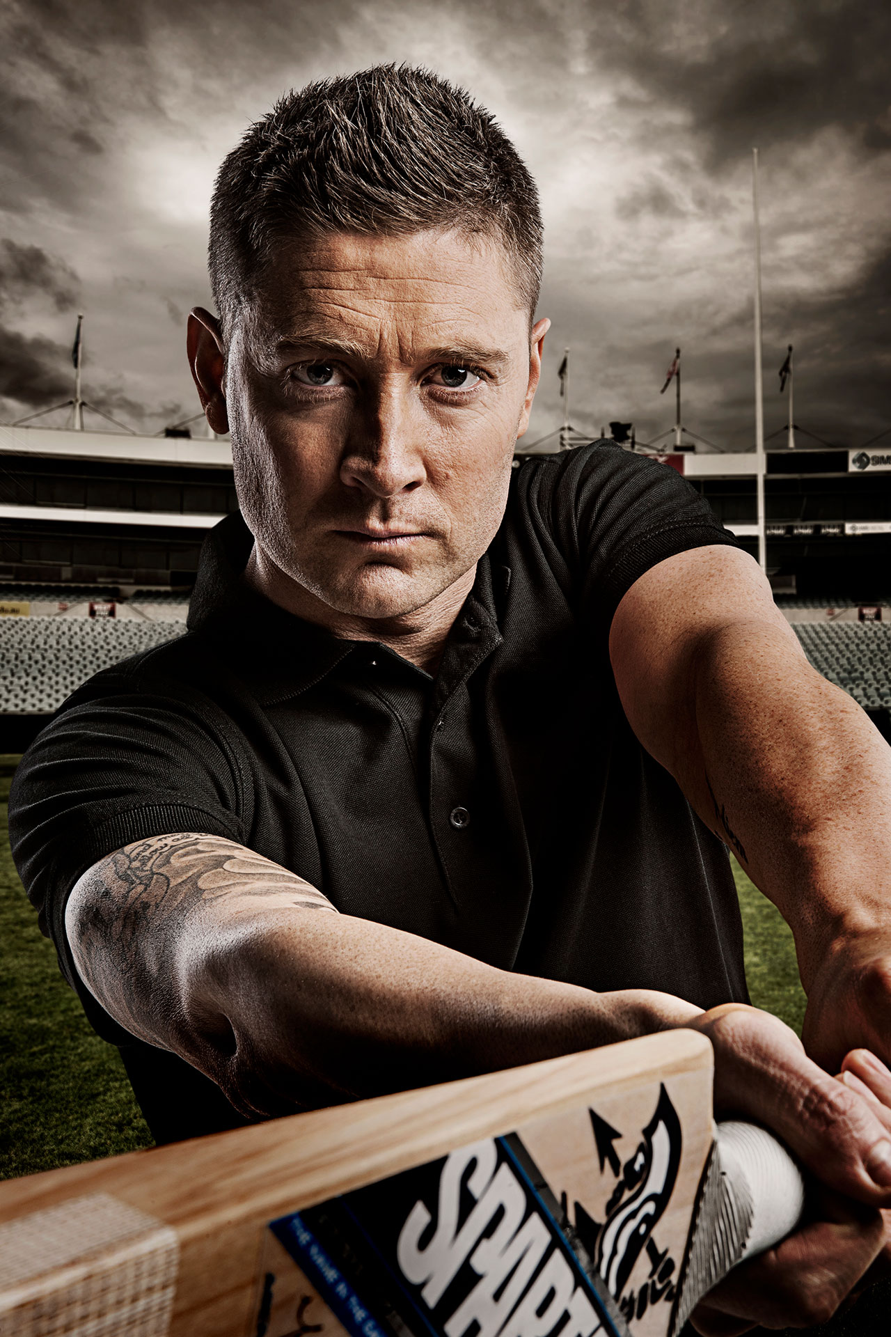 Michael Clarke Portrait Photographer Adelaide